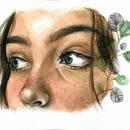 Serie de miradas. Un proyecto de Ilustración y Pintura a la acuarela de Mary Orsini - 28.05.2020