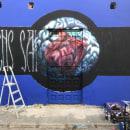 Co-n-razón . A Street Art project by Francisco José Jiménez Campoy - 05.29.2020
