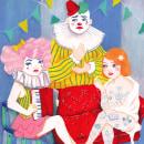 Freak Show. Um projeto de Design de personagens e Ilustração de Olga M. - 30.05.2020