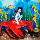Mi Proyecto del curso: Animalario botánico: acuarela, tinta y grafito. Um projeto de Desenho de Milagro Chuquiyanqui - 30.05.2020