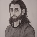 Mi Proyecto del curso: Retrato realista con lápiz de grafito. Un proyecto de Dibujo a lápiz y Dibujo de Retrato de Raquel Soto Llácer - 30.05.2020