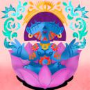 Nirvana. Un proyecto de Dibujo digital de Alex Serrano Requena - 31.05.2020