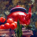 La Tetera Roja. A Art Direction, Photo retouching, Creativit, Poster Design, Concept Art, Digital photograph, and Digital Design project by Antonio Painn - 05.31.2020