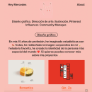 Hey Mercedes Diseño de web. Um projeto de Design gráfico, Web design e Design digital de Mercedes Valgañón - 02.06.2020