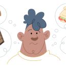 Ansiedad, confinamiento y comida. Um projeto de Ilustração, Ilustração vetorial e Ilustração digital de Jaime Hayde - 04.06.2020