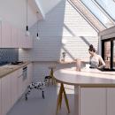 Apartment refurbishment in Brooklyn. Um projeto de 3D, Arquitetura, Arquitetura de interiores, Interiores e Ilustração Arquitetônica de Cosmorama Visuals - 04.06.2020