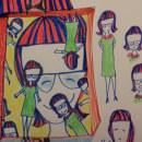 Mi Proyecto del curso: El arte del sketching: transforma tus bocetos en arte. Un proyecto de Creatividad con niños de Rossana Favero-Karunaratna - 04.06.2020