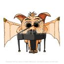 La Criatura Pianista. Um projeto de Ilustração digital de César Padilla - 03.06.2020