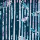 Printed samples and textile manipulations.. Um projeto de Serigrafia, Colagem e Tecido de Julia Pelletier - 08.06.2020