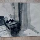 B&W Watercolor Spaces. Un progetto di Pittura , e Pittura ad acquerello di João Paulo de Carvalho - 09.06.2020
