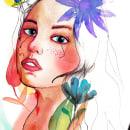 Mi Proyecto del curso: Retrato ilustrado en acuarela. A Illustration, and Portrait illustration project by Vladimir Medel - 06.10.2020