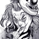 Joker. A Illustration, Character Design, Comic, Digital illustration, Portrait illustration, and Portrait Drawing project by Ricardo Nask - 06.10.2020