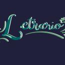 Letrario, rótulos manuales.. Un proyecto de Lettering, Lettering digital, H y lettering de Lizbeth Vázquez Cruz - 10.06.2020