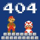 404 Error Page. Un proyecto de Diseño gráfico, Diseño interactivo, Diseño Web, Ilustración digital y Diseño digital de Jose Díaz Baena - 10.06.2020