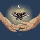 Primera ilustración con Procreate. Un proyecto de Ilustración digital de Celia Fernandez - 11.06.2020