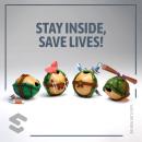 Las Tortugas Adentro. Un proyecto de 3D, Diseño de personajes y Diseño de personajes 3D de Luis Miguel Maldonado Redondo - 11.06.2020