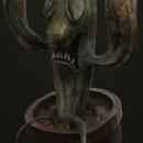 Zombie Cactus. Um projeto de 3D, Design de personagens, Modelagem 3D, Design de personagens 3D e 3D Design de Orlando Carranza - 12.06.2020