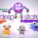 Campaña para Vermex Total. Um projeto de Publicidade, 3D, Direção de arte, Multimídia, Animação de personagens, Animação 3D, Modelagem 3D e 3D Design de Orlando Carranza - 12.12.2019