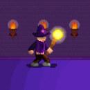 Mi Proyecto del curso ''Introducción al diseño de personajes en pixel art'' Mago Misterioso 2.0 #PixelLover. Um projeto de Design de personagens e Pixel Art de Gonza 07 Arana - 13.06.2020