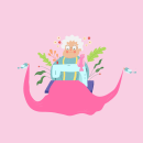 Mi Proyecto del curso: Ilustración vectorial con estilo. Um projeto de Ilustração de Alejandra Rodríguez - 13.06.2020