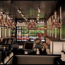 LOLA M , Estudio Tablón. Um projeto de 3D, Arquitetura, Arquitetura de interiores, Criatividade, Marketing digital, Desenho artístico, Decoração de interiores, Arquitetura digital e Design digital de Fernando Neyra Moreta - 14.06.2020