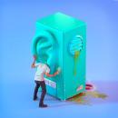 Ear machine. Um projeto de 3D, Animação 3D, To e Art de David Rivera - 13.06.2020