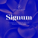 Signum: un sistema de letras a partir de módulos.. Un proyecto de Diseño, Packaging, Tipografía, Lettering y Diseño tipográfico de Fernando Ibarra - 16.06.2020