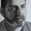 Mi Proyecto del curso: Retrato realista con lápiz de grafito. Un proyecto de Dibujo a lápiz y Dibujo de Retrato de Laura Núñez - 17.06.2020