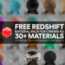 Librería gratuita de materiales para Redshift C4D. A 3-D project by Alejandro Magnieto Benlliure - 18.06.2020