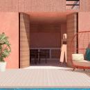Mi Proyecto del curso: Representación gráfica de proyectos arquitectónicos. Un proyecto de Arquitectura, Ilustración arquitectónica e Ilustración digital de Eduardo Caballero Ortíz - 18.06.2020