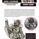 Album Cover - Portafolio. Un proyecto de Ilustración, Música, Audio, Bocetado, Ilustración digital, Concept Art, Dibujo artístico y Pintura digital de Gypsy /A - 19.06.2019