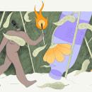 Ilustraciones de prensa para CCCB Lab. A Illustration project by Sandra Freijo Serrano - 06.19.2020