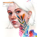 Uncertainty. A Illustration, Watercolor Painting, Portrait Drawing, Realistic drawing, and Artistic drawing project by Vrigit Smith - 06.20.2020