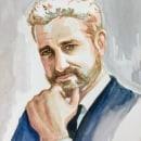 Mi Proyecto del curso: Retrato artístico en acuarela. Um projeto de Ilustração de retrato de Romana Ferrer Escandell - 22.06.2020