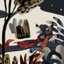 Doce princesas bailarinas. A Illustration, Kinderillustration und Illustration mit Tinte project by Alejandra Acosta - 22.06.2020