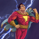 Meu projeto do curso: Ilustração para quadrinhos: a anatomia de um super-herói. Un proyecto de Cómic, Ilustración digital y Dibujo anatómico de Elias Sousa - 23.06.2020