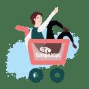 Ilustraciones Web para European PC. Un progetto di Illustrazione, Character Design, Illustrazione vettoriale, Progettazione di icone, Design di loghi, Illustrazione digitale, Illustrazione infantile , e Design digitale di Sofía Bertomeu - 24.06.2020