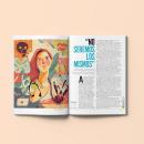 Editorial para Revista Semana 2020. Un proyecto de Ilustración, Diseño editorial, Ilustración digital, Ilustración de retrato, Dibujo de Retrato, Dibujo digital y Pintura digital de Natalia Rojas - 27.06.2020