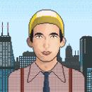 Come on feel the Illinoise: Sufjan Stevens. Un proyecto de Ilustración y Pixel art de Ramón Romero Pastor - 26.06.2020