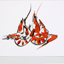 Un trocito de Mediterráneo. Um projeto de Ilustração com tinta de Julia Lillo García - 10.11.2013