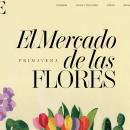 Mercado de las Flores Vogue 2020. Un proyecto de Diseño y Pintura acrílica de Marina Benito - 30.05.2020