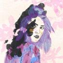 Mi lado oscuro. Um projeto de Criatividade, Ilustração e Ilustração de retrato de Maialen Lleó - 02.07.2020