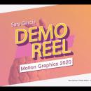 REEL 2020. Um projeto de Motion Graphics, Animação 2D, Animação 3D e Edição de vídeo de Sara García Rodríguez - 08.07.2020