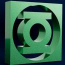 Logo de Green Lantern. Un proyecto de 3D de ENMANUEL RONDON - 09.07.2020