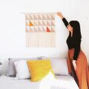 Tapiz Peaks. Um projeto de Design, Ilustração têxtil, Decoração de interiores e Tecido de Flor Samoilenco - 09.07.2020