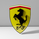 Logo Ferrari. Un proyecto de 3D de ENMANUEL RONDON - 11.07.2020