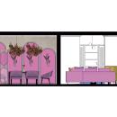 Mi Proyecto del curso: Color aplicado al diseño de interiores. Un proyecto de Diseño 3D y Diseño de interiores de Sonia Nieto Nuñez - 11.07.2020
