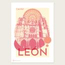 Carteles ciudad de León. Un proyecto de Diseño gráfico de Ana Pérez - 11.07.2020