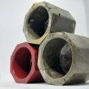 Diseño en Concreto_ Guinda. Um projeto de Artesanato de Shanthal Parodi - 13.07.2020