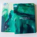 Catálogo «Riu»de la artista Rebeca Plana.. Un proyecto de Diseño editorial y Fotografía artística de Óscar Vázquez Chambó - 23.02.2020